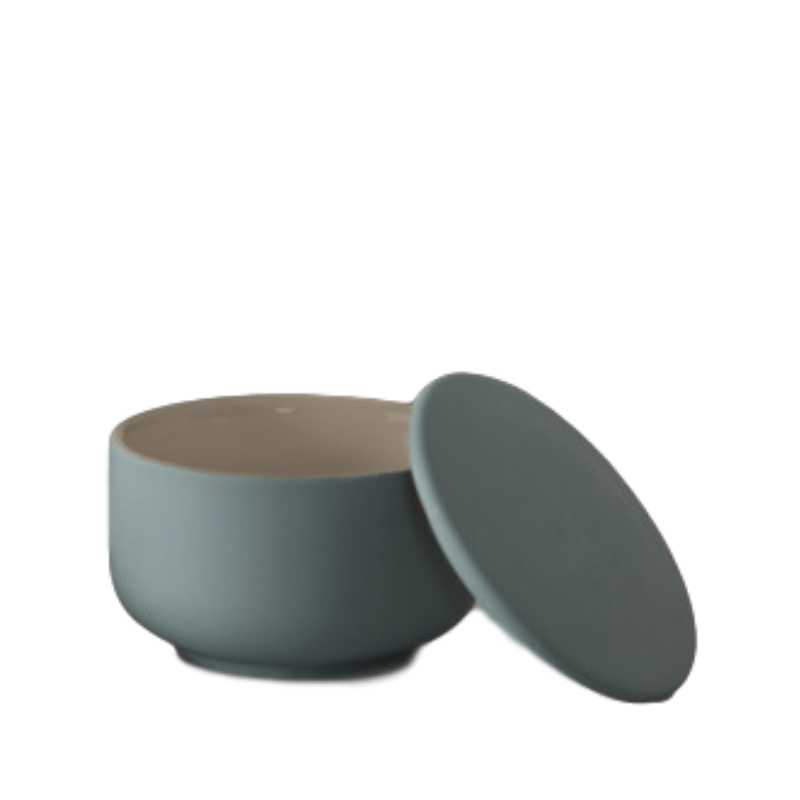 Albi | Becket Bathroom Canister / Shave Bowl - Green | Shut the Front Door