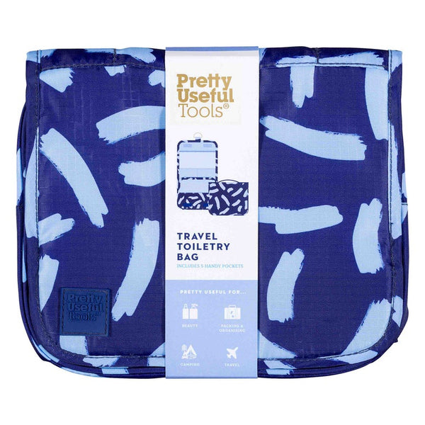 Pretty Useful Tools | Travel Toiletry Bag Midnight | Shut the Front Door