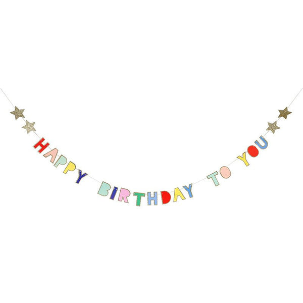 Meri Meri | Mini Garland Birthday | Shut the Front Door