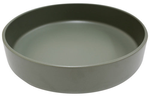 Mint Home | Sienna Shallow Serving Bowl Sage Green | Shut the Front Door