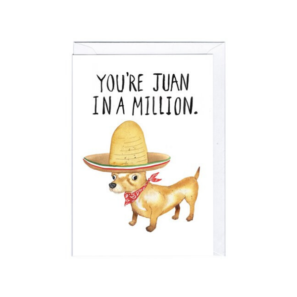 Jolly Awesome | Juan In A Million Card | Shut the Front Door