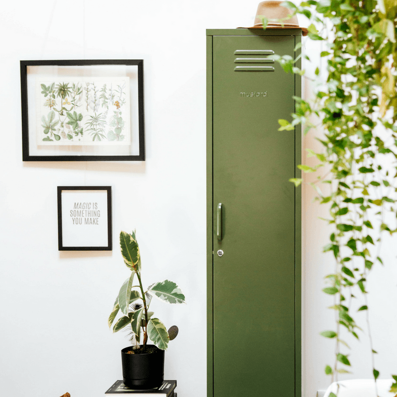 Mustard | Skinny Locker - Olive | Shut the Front Door