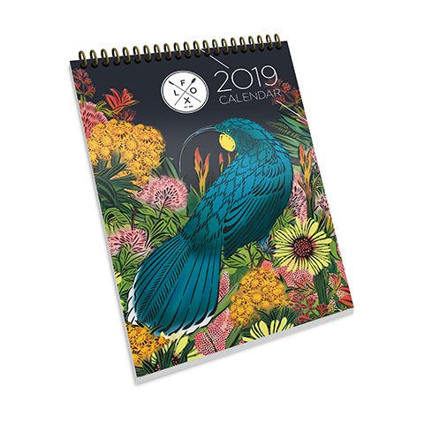 Flox | 2019 Flox Wall Calendar | Shut the Front Door