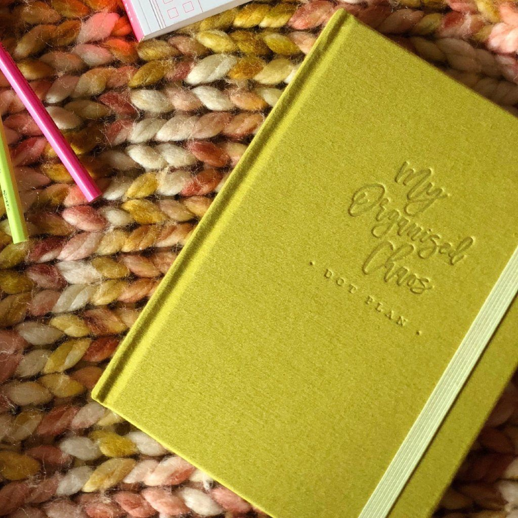 Write to Me Stationery | My Organised Chaos Dot Planner - Olive | Shut the Front Door