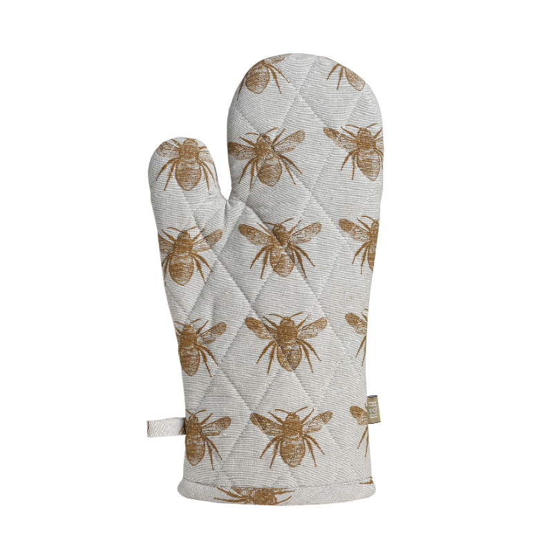 Raine & Humble | Honey Bee Oven Glove - Mustard | Shut the Front Door