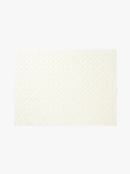 Aura | Bath Mat Check Creme | Shut the Front Door