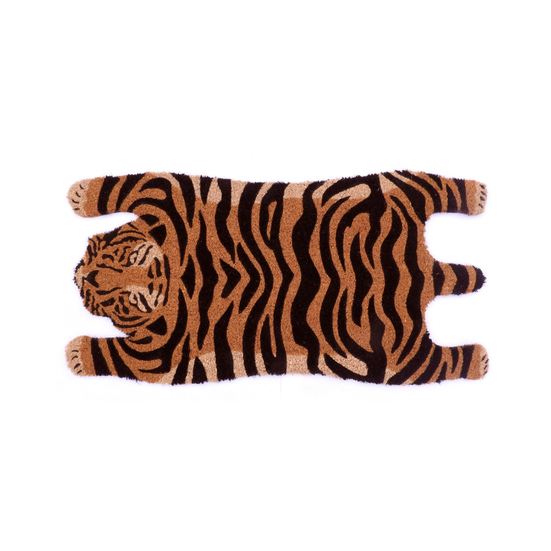 Saffron | Doormat - Sleeping Tiger | Shut the Front Door