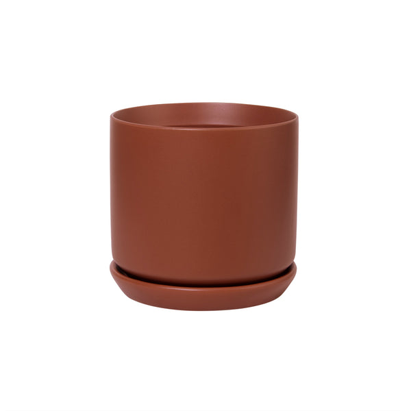 General Eclectic | Oslo Planter Terracotta Medium | Shut the Front Door