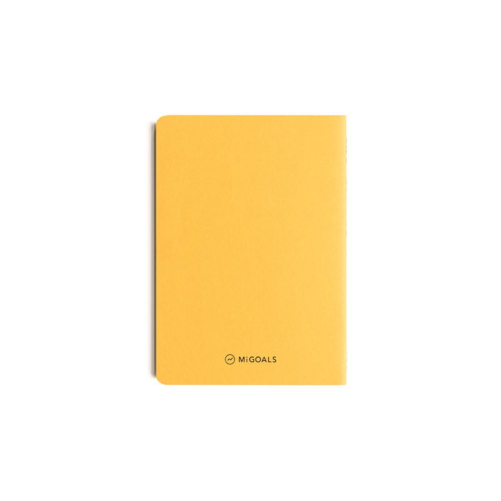 Mi Goals | Get Shit Done Notebook A6 Yellow | Shut the Front Door