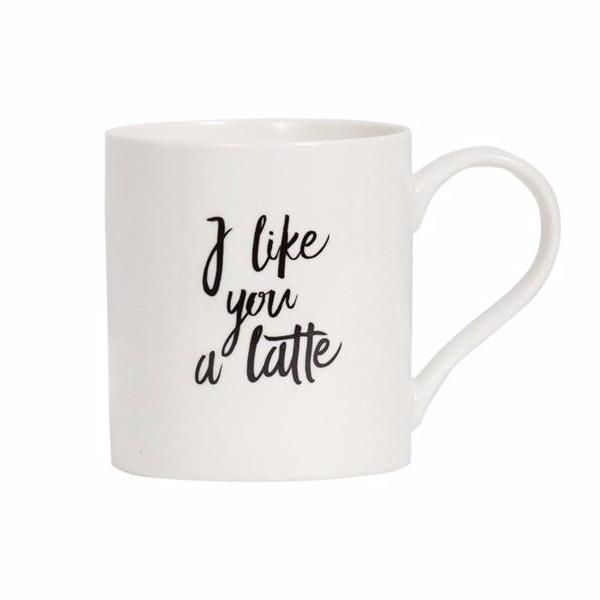 General Eclectic | Like You a Latte Mug | Shut the Front Door