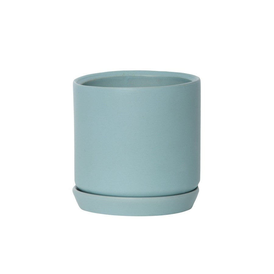 General Eclectic Oslo Planter Blue Mist Large