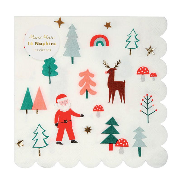 Meri Meri | Christmas Icon Napkin | Shut the Front Door