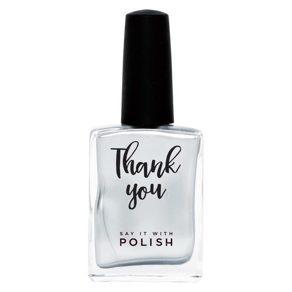 Say It With Polish | Nail Polish THANK YOU Mercury | Shut the Front Door
