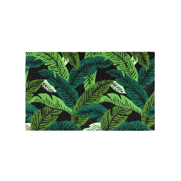 General Eclectic | Doormat Banana Leaf | Shut the Front Door