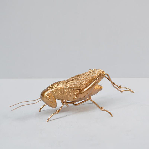 Insect Grasshopper - Gold