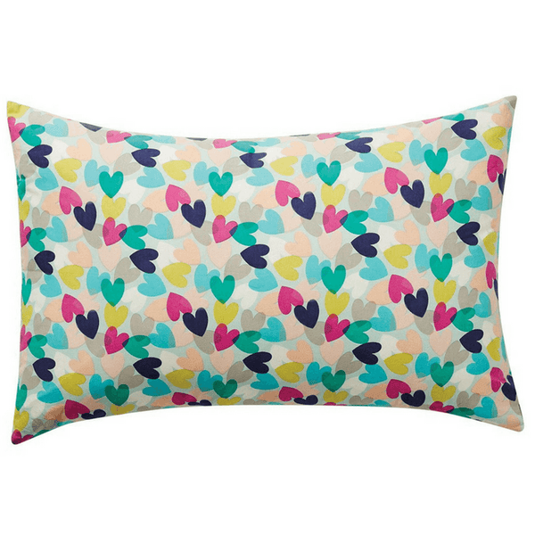 SAGE & CLARE | Aphrodite Hearts Pillowcase | Shut the Front Door