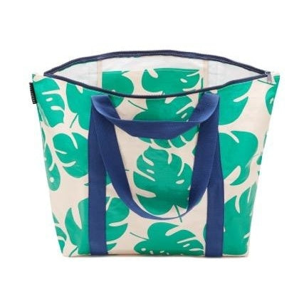 Project Ten | Zip Up Medium Tote Bag - Monstera | Shut the Front Door