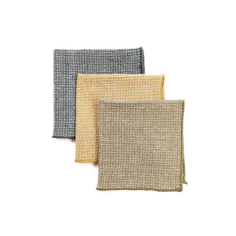 Raine & Humble | Wild Stripe Cotton Dish Cloths - Pack of 3 | Shut the Front Door