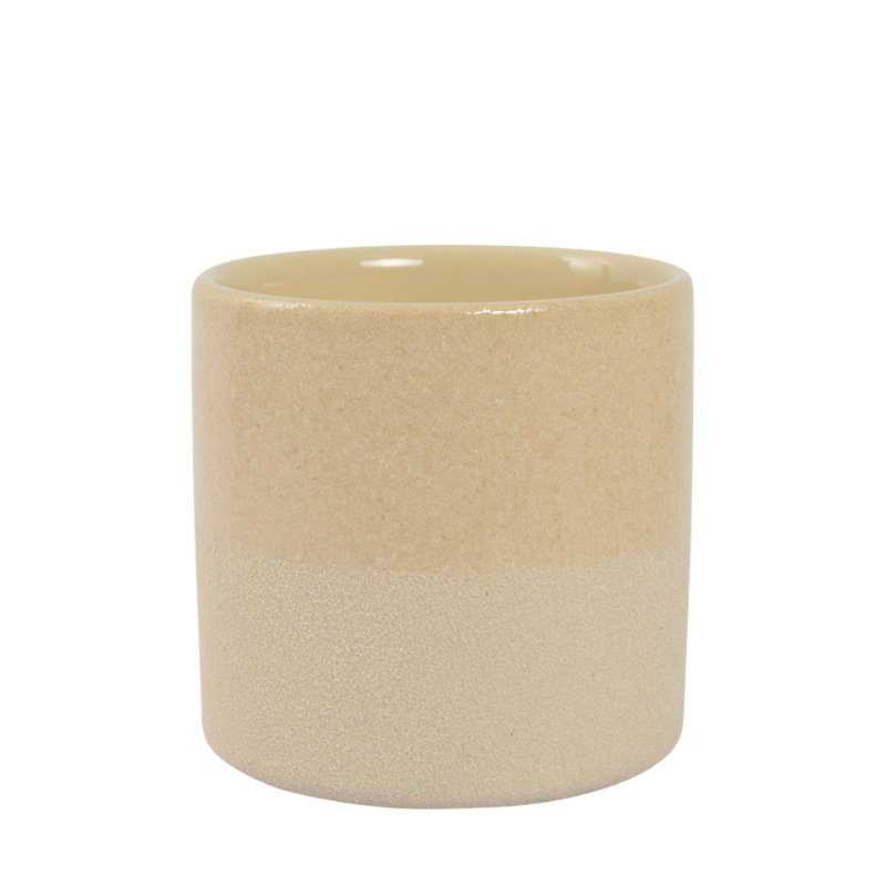 Habitat | Medium Capri Planter Pot - Sand | Shut the Front Door