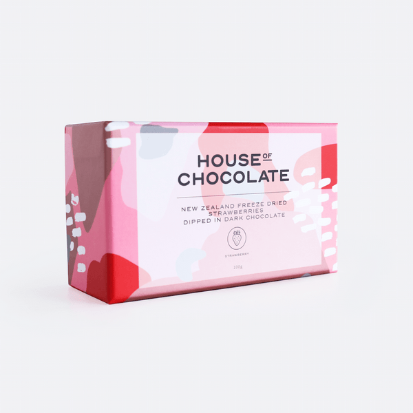 House of Chocolate | Freeze Dried Strawberries in Dark Chocolate | Shut the Front Door