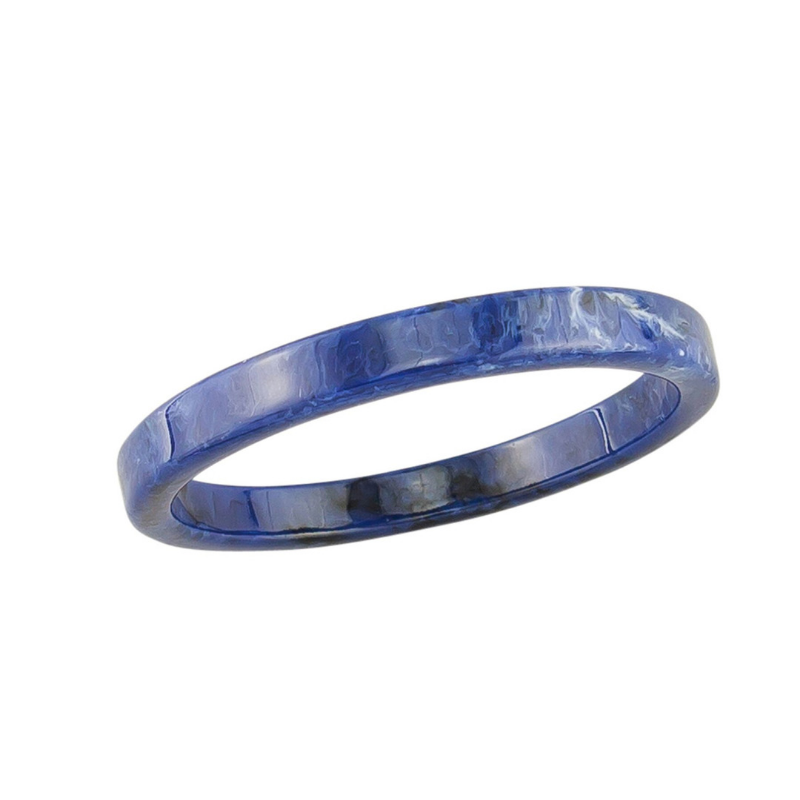 Tiger Tree | Winter Resin Bangle - Indigo | Shut the Front Door