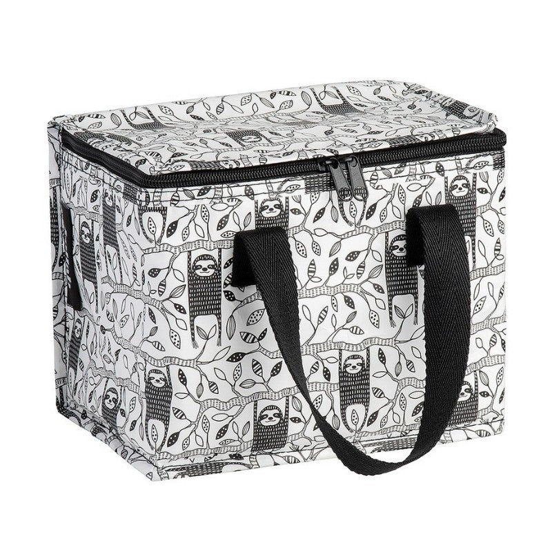 Kollab | Insulated Lunch Box - Sloth Blk/Wht | Shut the Front Door