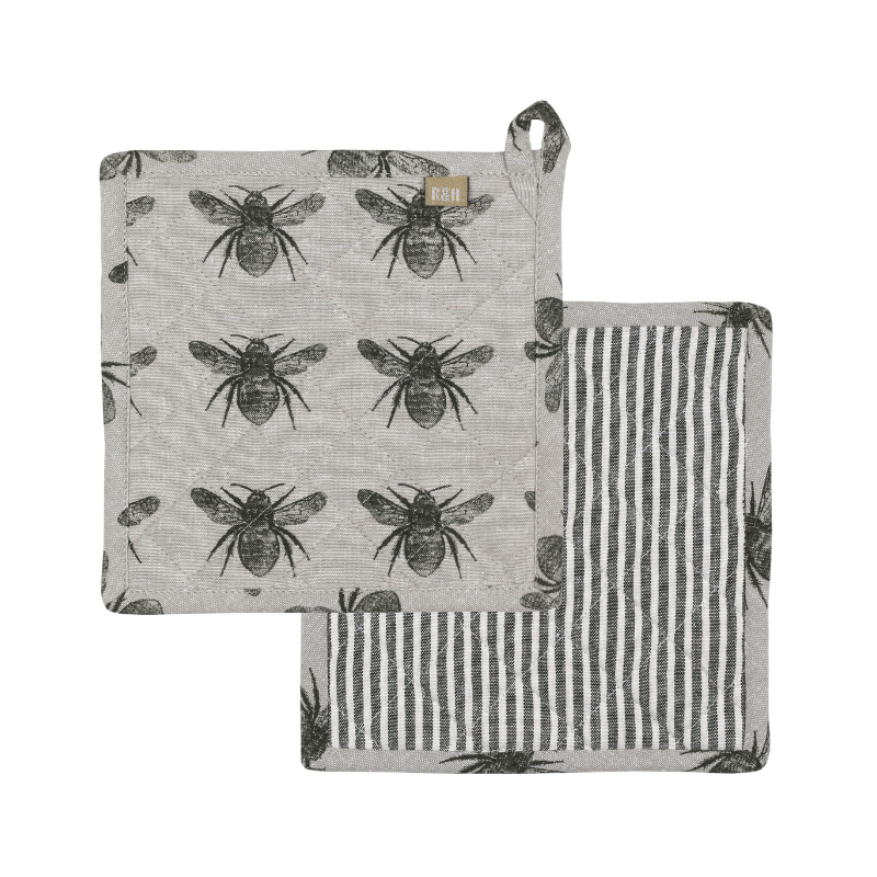 Raine & Humble | Honey Bee Trivet - Olive Green | Shut the Front Door