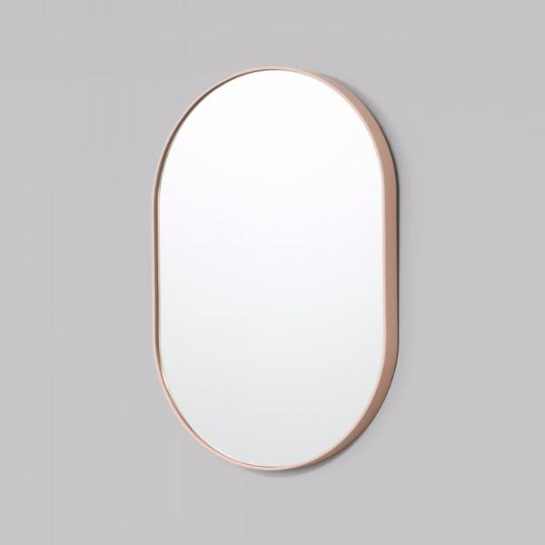 Middle of Nowhere | Bjorn Oval Mirror Powder 50  x 75 cm | Shut the Front Door