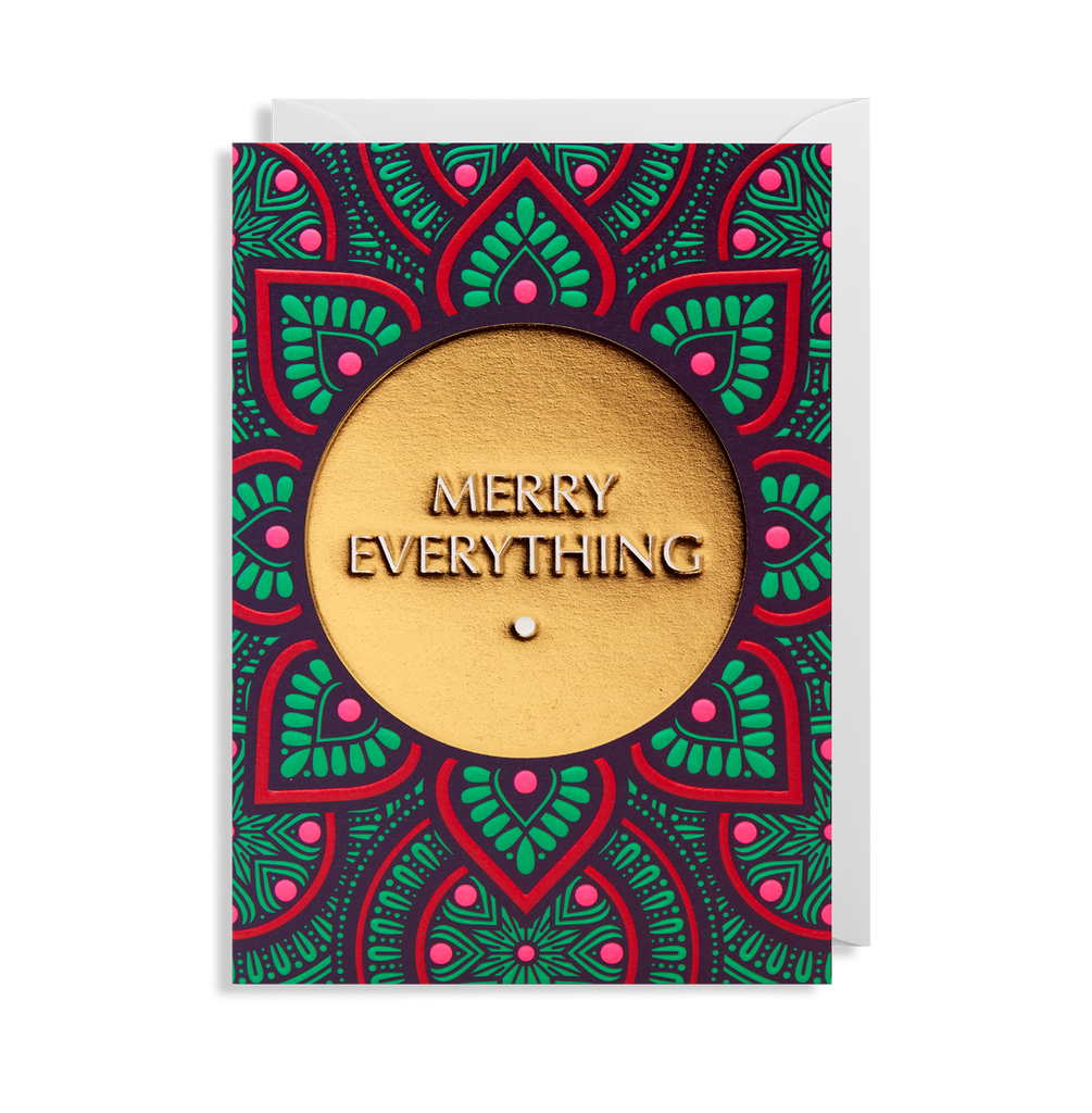 Lagom | Christmas Card - Merry Everything | Shut the Front Door