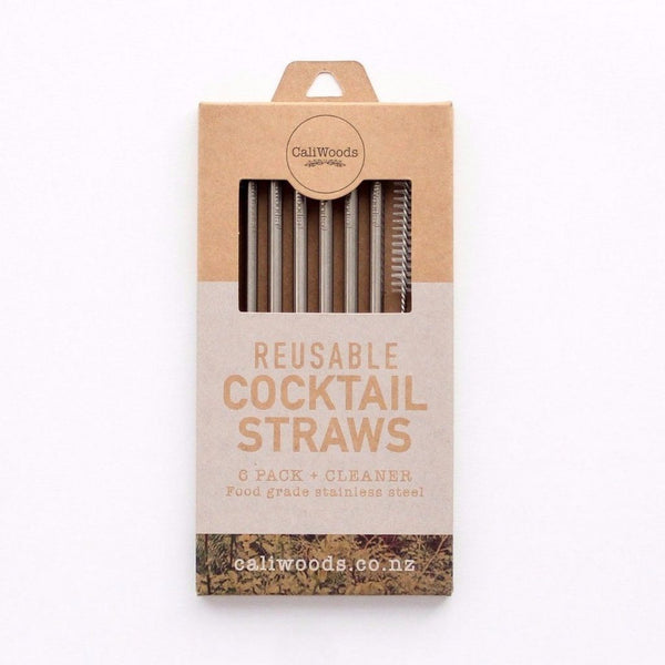 CaliWoods | Reusable Cocktail Straws | Shut the Front Door