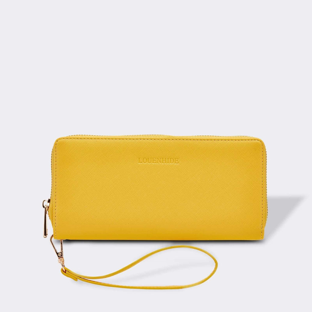 Louenhide | Jessica Hatch Wallet Sunflower | Shut the Front Door