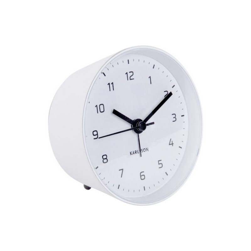 Karlsson | Alarm Clock Cone - White | Shut the Front Door