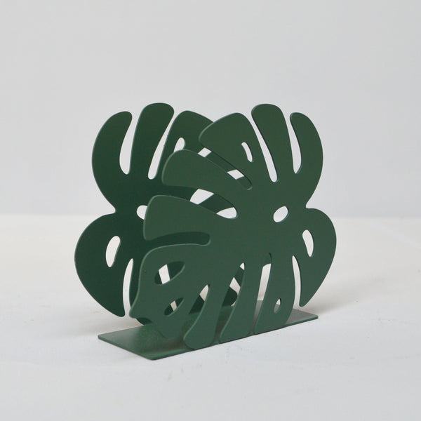 White Moose | Monstera Letter Holder - Green | Shut the Front Door