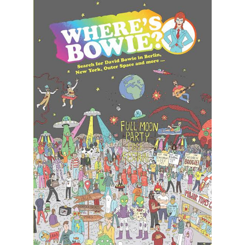 Simon & Schuster | Where's Bowie? Book | Shut the Front Door