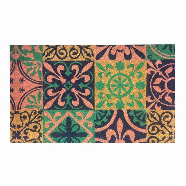 General Eclectic | Doormat Spanish Tiles | Shut the Front Door