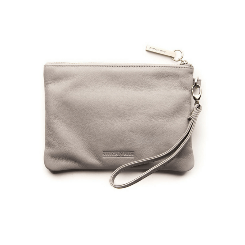 Stitch & Hide | Cassie Clutch MISTY GREY | Shut the Front Door