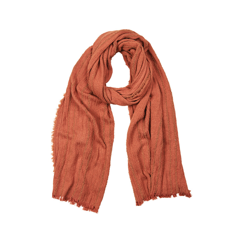 eb & ive | Weekender Scarf - Rust | Shut the Front Door