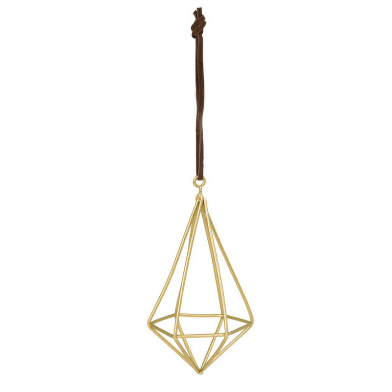 General Eclectic | Diamond Wire Tall Gold Decoration | Shut the Front Door
