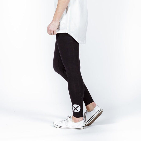 Home-lee | Leggings Black White X | Shut the Front Door