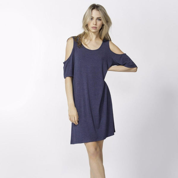 Betty Basics | Havana Dress Indigo Marle | Shut the Front Door