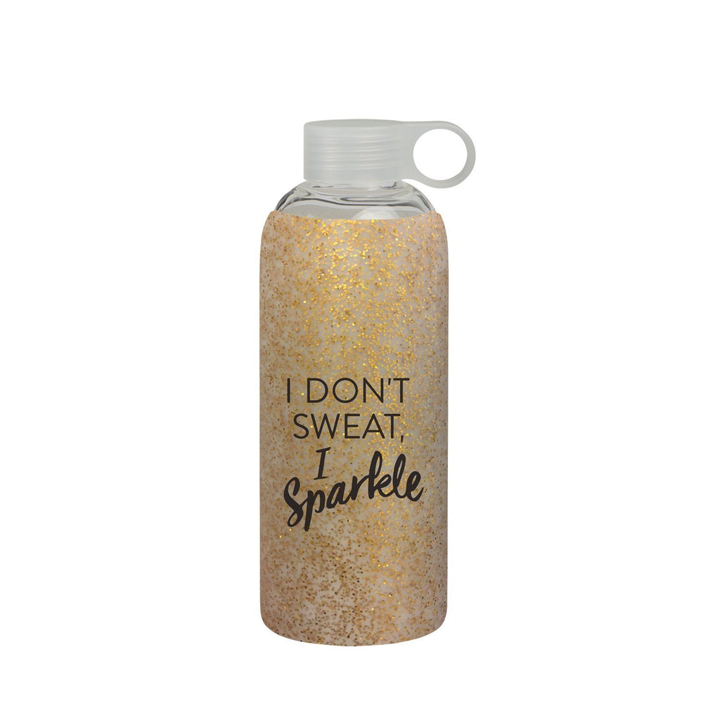 General Eclectic | Drink Bottle I Don't Sweat I Sparkle 750ml *PRE ORDER* | Shut the Front Door
