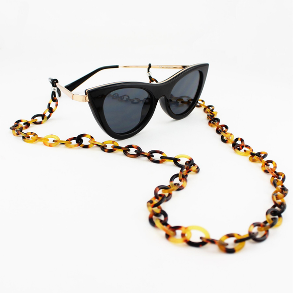 Tiger Tree | Tortoise Shell Glass Chain | Shut the Front Door