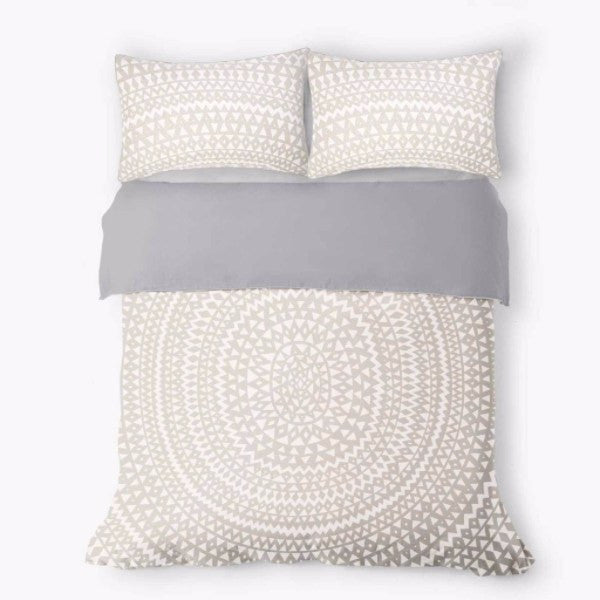 Aura | Duvet Cover Set Inca Marshmallow KING | Shut the Front Door