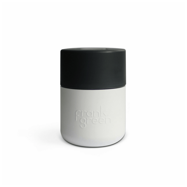 Frank Green | Frank Green Smart Cup 8oz White/Titanium/Cool Grey | Shut the Front Door