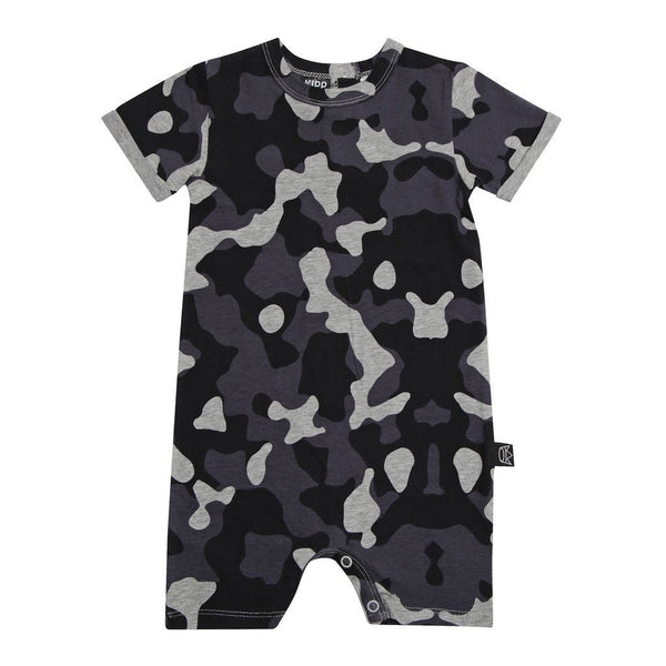 Kipp Kids | Short Sleeve Romper - Camo | Shut the Front Door