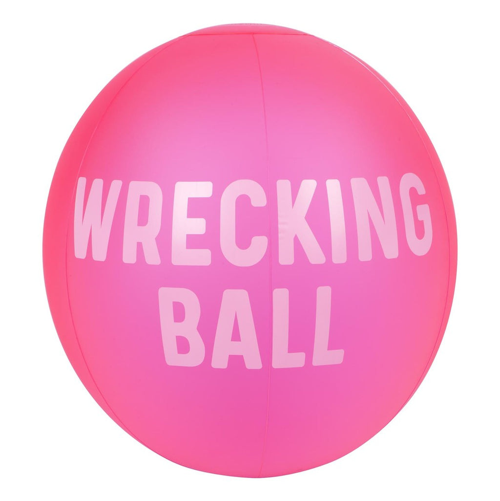 Sunnylife | XL Inflatable Beach  Ball - Wrecking Ball | Shut the Front Door