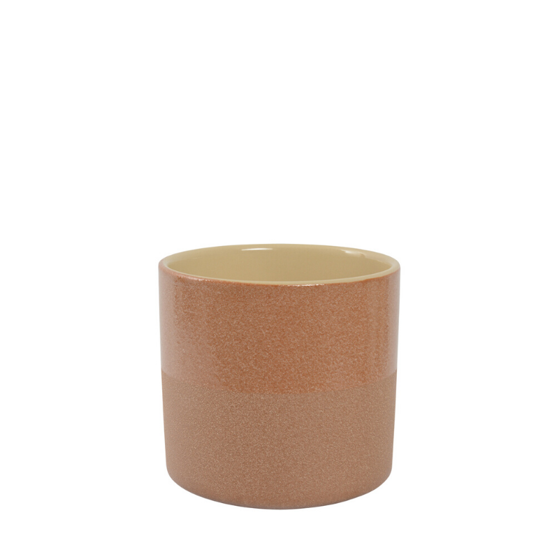 Habitat | Small Capri Planter Pot - Caramel | Shut the Front Door