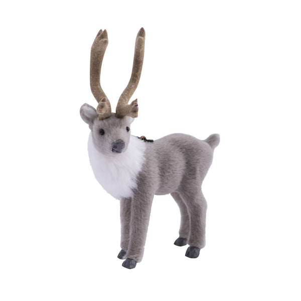 Down to the Woods | Fluffy Grey Elk Decoration | Shut the Front Door