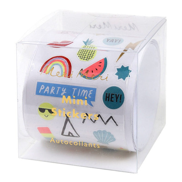 Meri Meri | Foil Sticker Roll Assorted 100 | Shut the Front Door