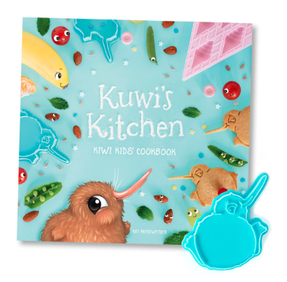 Tikitibu | Kuwis Kitchen Kids Cookbook + Kuwi Cookie Cutter | Shut the Front Door